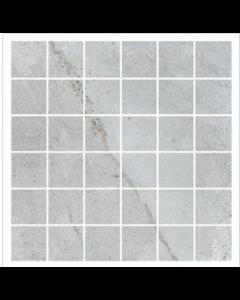 Gemini Palace Cool Slate Mosaic Matt Tile - 300x300mm