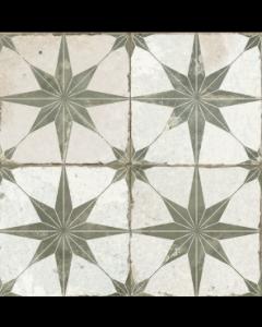 Vintage Industrial 45 Tiles Star sage scintilla olive 450x450 Tiles