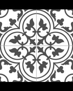 Ledbury/ Bourton marina black charcoal  45x45 Tiles