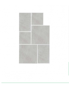 Settecento Proxi Blanco Porcelain Wall and Floors 48x96 Limestone Effect Tiles