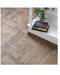 Settecento Tiles Gallery Hazel Wood Effect Porcelain Wall and Floor Tiles 48x48