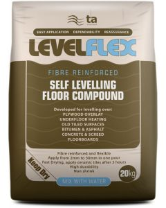 Tilemaster Adhesives Levelflex floor levelling compound 20kg