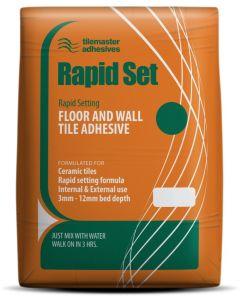 Tilemaster Adhesives Rapid Set White C1 FT 20kg