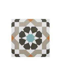 Marrakech Catrina Aqua 1 Tile - 300x300mm