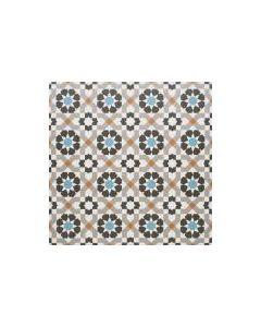 Marrakech Catrina Aqua 3 Tile - 300x300mm