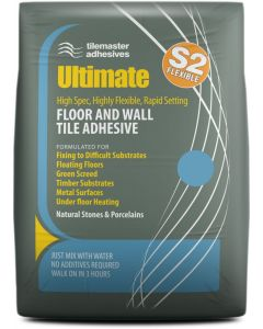 Tilemaster Adhesives Ultimate White C2 F S2 20kg
