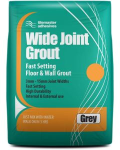 Tilemaster Adhesives Wide Joint Grout Grey 10kg