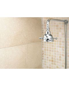 Marshalls Tile and Stone Thala Cream Brushed Tile 100 x free length