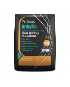 Tilemaster Adhesives Anhyfix White 20kg 20no Bag Pallet Offer