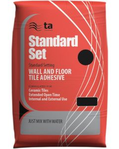 Tilemaster Adhesives Standard Set White C1 TE 20kg
