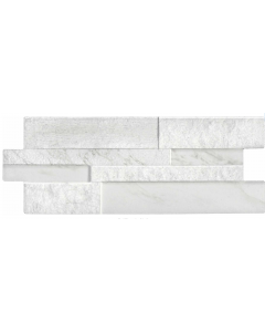 Verona Tiles Marmi White Feature Porcelain Wall and Floor Tiles 394x160