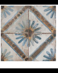 Vintage Industrial 45 Tiles Star Black Scintilla 450x450 Tiles