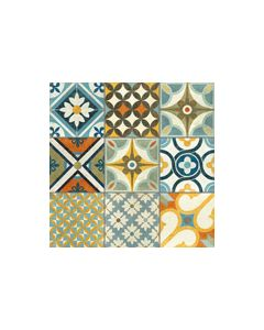 Heritage Multi Matt Rectified Tile - 600x600mm